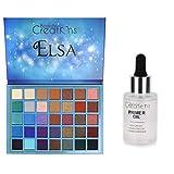Beauty Creations Elsa 35-Color Pro Eyeshadow Palette + BONUS Primer Oil (Full Size)