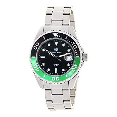 Constantin Durmont Unisex Erwachsene Analog Automatik Uhr mit Edelstahl Armband Seabreaker Automatic 130637