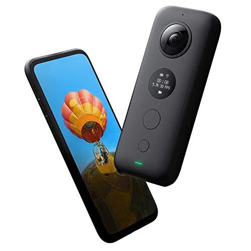 【国内正規品】Insta360 ONE X 5.7K超高画質動画 手ブレ補正機能FlowState搭載 360度アクションカメラ (本体)