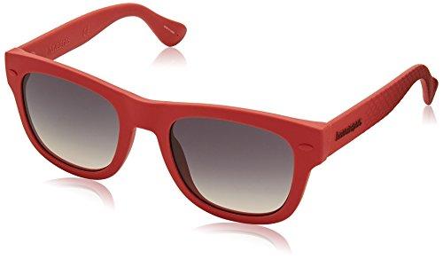 Havaianas PARATY/M LS ABA Gafas de sol, Rojo (Red/Grey Grey), 50 Unisex Adulto