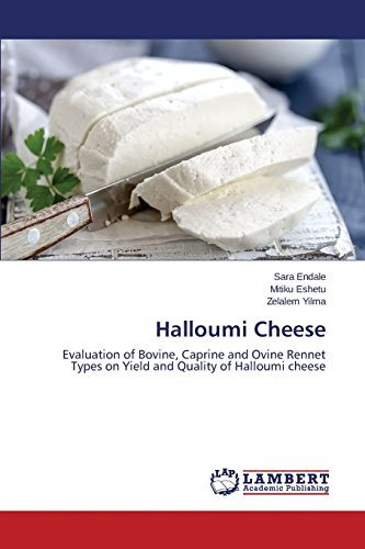 Halloumi Cheese: Evaluation of Bovine, Caprine and Ovine Rennet Types on Yield and Quality of Halloumi cheese