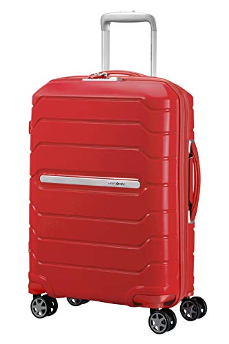 SAMSONITE Flux - Spinner Koffer, 55 cm, 44 Liter, Red