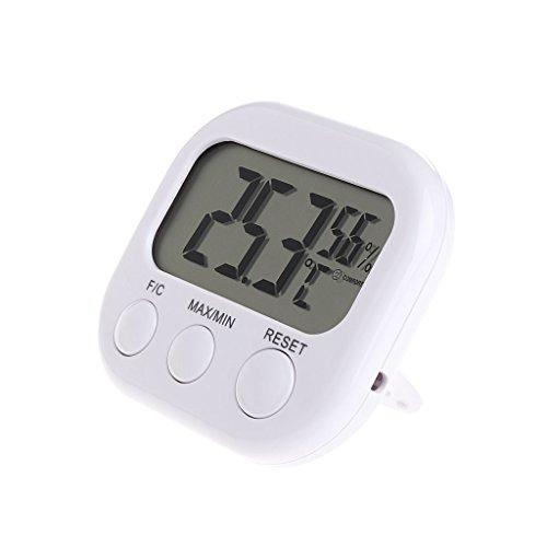 FXCO LCD-Anzeige Hygrometer Digital Temperatur Luftfeuchtigkeit Zähler Max Min Thermometer