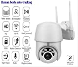1080P PTZ Outdoor IP Camera Topmall1 Speed Wireless WiFi Security Camera Dome Auto-Tracking Pan Tilt Zoom 2MP Net Work Loop Recording CCTV Surveillance