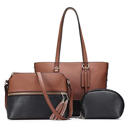 Shoulder Bag Handbags for Women Fashion Tote Bags Satchel Purse Set Hobo bag 3pcs