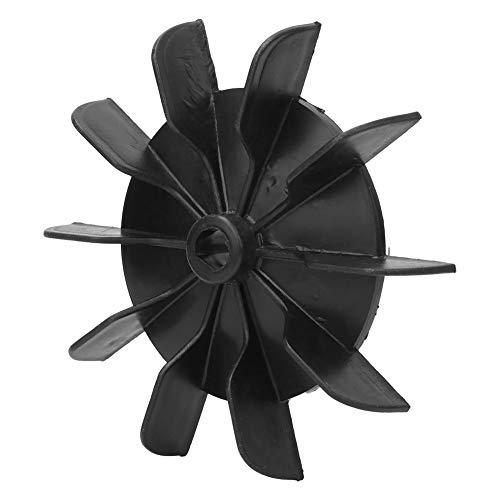 5 piezas de conexión de dirección Aspa del ventilador 13 mm Impulsor de 10 aspas Motor del compresor de aire Accesorio del ventilador, Aspa del ventilador del motor del compresor de aire, Una herramie
