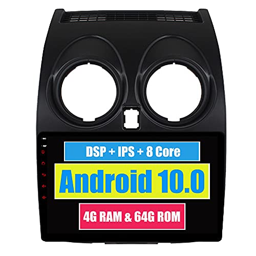 RoverOne 9 Pouces Système Android Octa Core pour Nissan Qashqai 2008 2009 2010 2011 2012 2013 2014 Autoradio Système stéréo avec Radio Navigation GPS Bluetooth Mirror Link écran Tactile