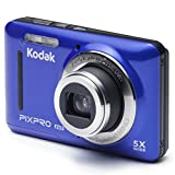 Kodak FZ53-BL Point and Shoot Digital Camera with 2.7' LCD, Blue