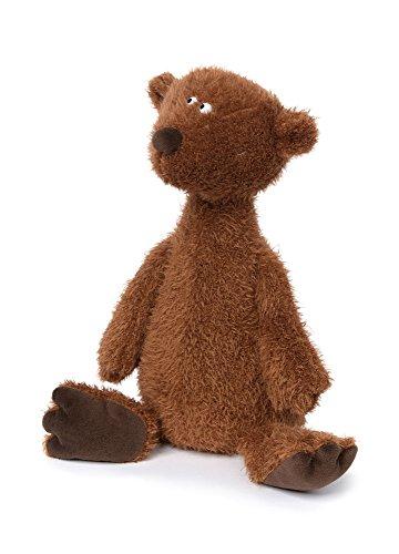 sigikid Beasts Kuscheltier für Erwachsene und Kinder, Bär groß, Ach Good!, Rot-Braun, 38925