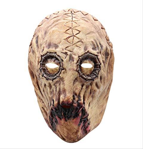 Party Latex Maske,Die Texas Chainsaw Massacre Leatherface Masken,Für Scary Movie Cosplay Halloween Kostüm Requisiten Spielzeug