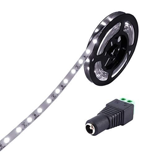 JOYLIT Striscia LED Bianco freddo SMD5630 300led IP20 Non impermeabile 5 metri DC 12V di altezza striscia di led per decorazione di armadio da cucina, camera da letto
