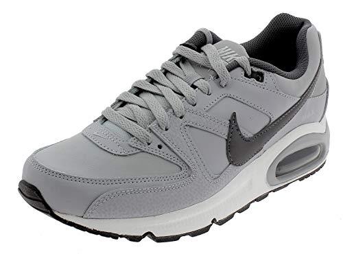 Nike Air Max Command Leather, Sneaker Uomo, Grigio (Wolf Grey/Mtlc Dark Grey/Black/White 012), 42 EU