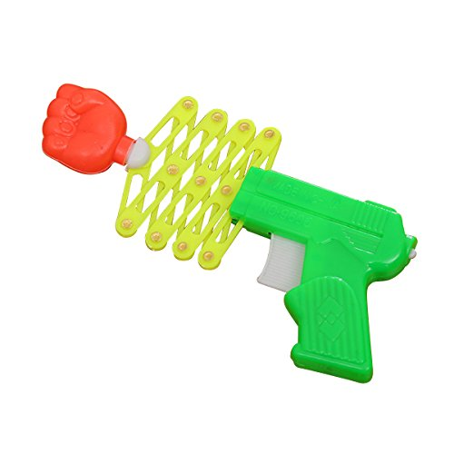 Toyvian Extending Punching Gun Toy Trick Toy Kids Party Gift Favor