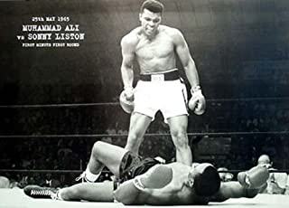 Muhammad Ali vs. Sunny Liston Collections Giant Poster Print, 55x39