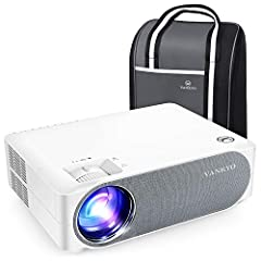 【REAL NATIVE 1080P FULL HD】VANKYO Performance V630 is equipped with native 1920x1080 resolution, 5000:1 contrast ratio and 50,000 Hours lamp life. Revolutionary brighter video projector meets all audio-visual satisfactions for office PowerPoint Prese...