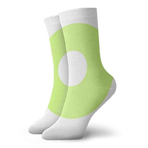 Kasvot Växt - Calcetines de bloque clásicos de ocio y deporte (30 cm, apto para hombres y mujeres)