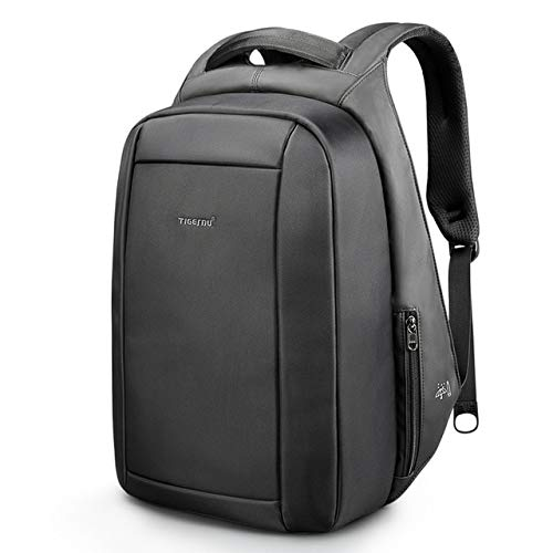 Anti-Theft Laptop Backpack,17.3 Inch Business Travel Backpack Bag with Lock with USB Charging & Headphone Port, Water Resistant College School Computer Rucksack Work Backpack for Mens