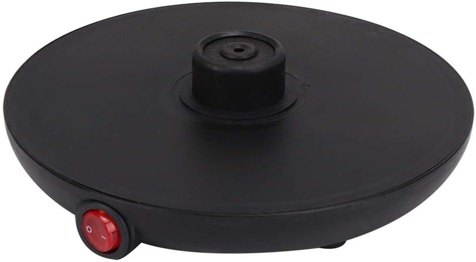 GSKJ électrique 304 ménages Moka Pot café Noir en Acier Inoxydable Expresso Sec Machine pour empêcher la Combustion,6 Tasses de la fiche 220 Euro 6 Tasses de la Fiche 220 Euro