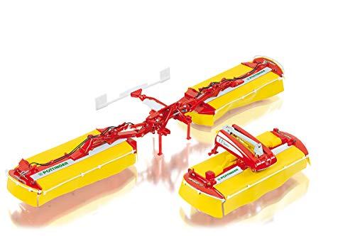 Wiking 077341 Pöttinger Mähwerk Novacat V10, 1:32, Modell, Metall/Kunststoff/Gummi, Ab 14 Jahre, Viele Funktionen, Bewegliches Frontmähwerk, In Transportstellung positionierbar