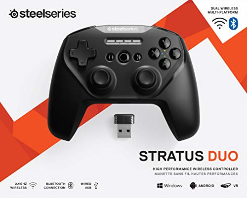 SteelSeries Stratus Duo – Wireless Gaming Controller – Android (Fortnite), Windows, Oculus Go, Samsung Gear VR - 10