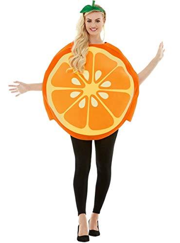 Funidelia | Disfraz de Naranja para Hombre y Mujer Talla Estndar Fruta, Comida - Naranja