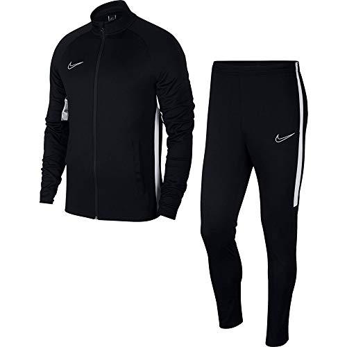 Nike M NK Dry Acdmy Trk Suit K2 Tracksuit, Hombre, Black/ White/ White, L