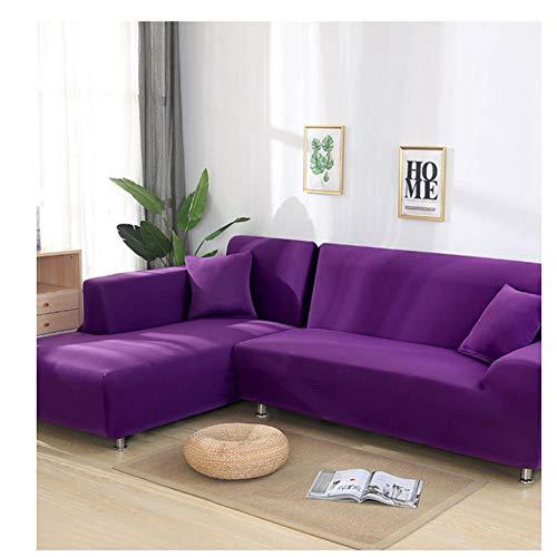 empty Elastische Sofabezug, Sofabezug, rutschfeste Wohnzimmerdekoration (1/2/3/4 Sitz) M8 235X300Cm