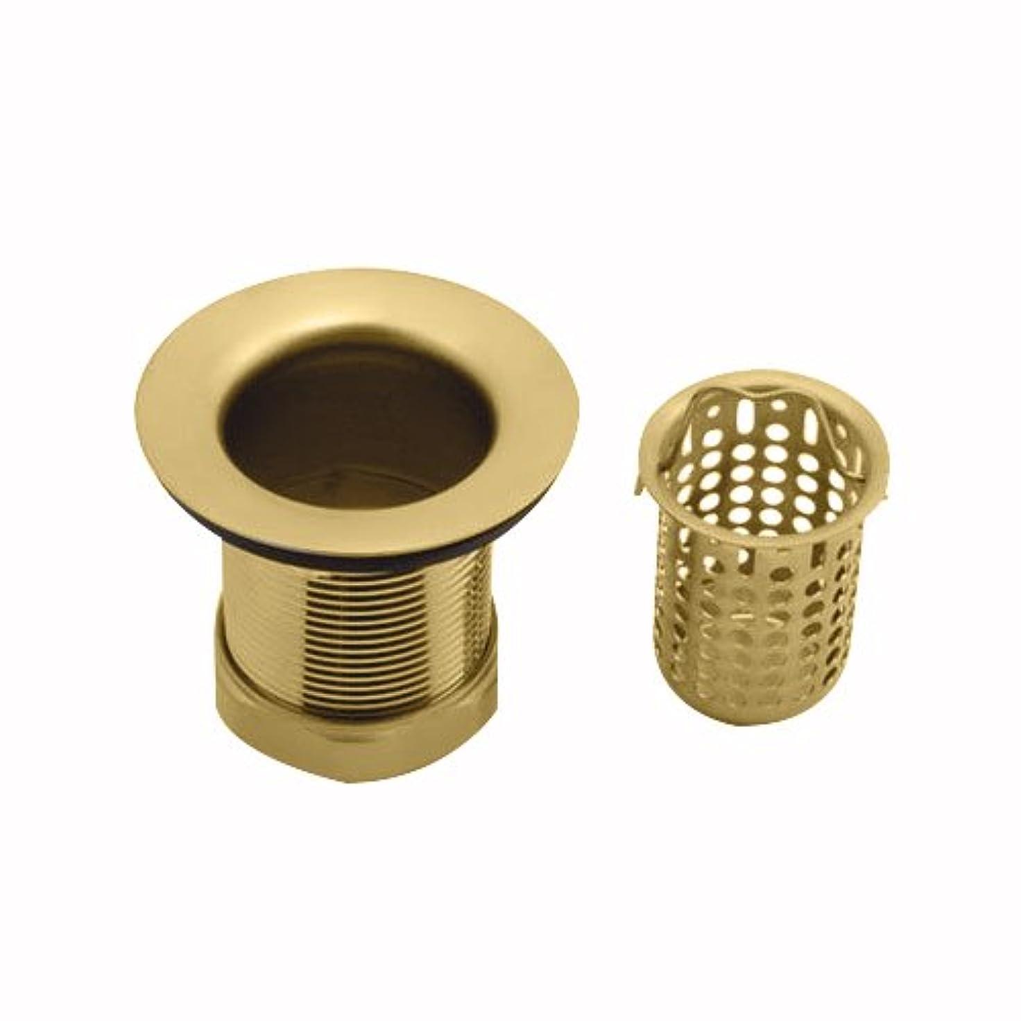 農場バッテリー検索Jaclo 2826-pb DeepカップバーSink Strainer、光沢真鍮