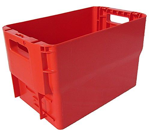 Postkisten Gr. 28cm Höhe rot Briefbehälter, Postbehälter, Stapelbox