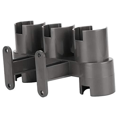 Gerioie Soporte para Accesorios de Montaje en Pared de ABS, Soporte para Accesorios de aspiradora Resistente al Desgaste montado en la Pared, Mantenga el baño ordenado para el hogar