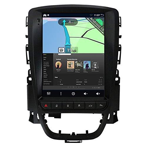 YUNTX Android 10 Autoradio per Excelle GT/XT Astra J(2006-2016)-[2G+32G]-GRATUITI Fotocamera Posteriore&Canbus- GPS 2 Din - Stile Tesla - Supporto DAB/Controllo del Volante/WiFi/Bluetooth 5.0/Carplay