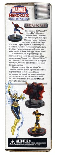 Marvel Heroclix Ultimates Booster Pack [Misc. Supplies] by Various
