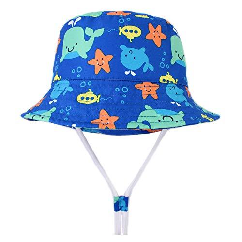 Happy Cherry - Sombrero Infantil de Verano Protección de Sol Gorro de...
