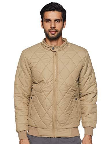 Qube By Fort Collins Men's Jacket (11115AZ_Fawn_M)