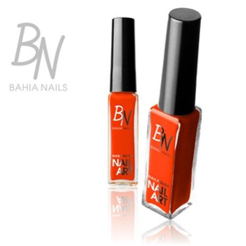 Bahia Nails®–smalti Nail Art Liner Striper Arancione Fluo n ° 03