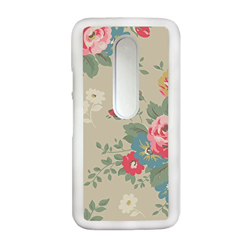 Tyboo Phone Shell Abs Have with Floral Flower Handkerchief For Moto G3 For Guy Individuality
