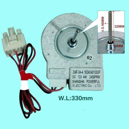 Aikeec Ventilador de congelación ZWF-02-4 Reemplazo para re