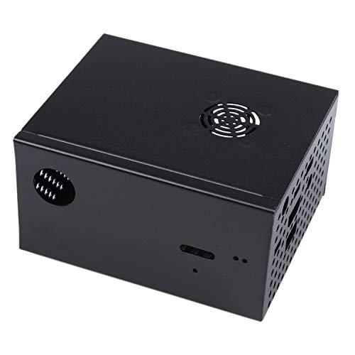 Naliovker per Raspberry Pi X820 V3.0 Ssdandhdd Sata Storage Board Matching Metal Case/Custodia Interruttore di Controllo Alimentazione Kit Ventola di Raffreddamento