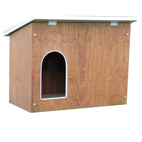 Ferranti - Niche en bois pour chien de taille moyenne mod. Collie 119 x 86 cm