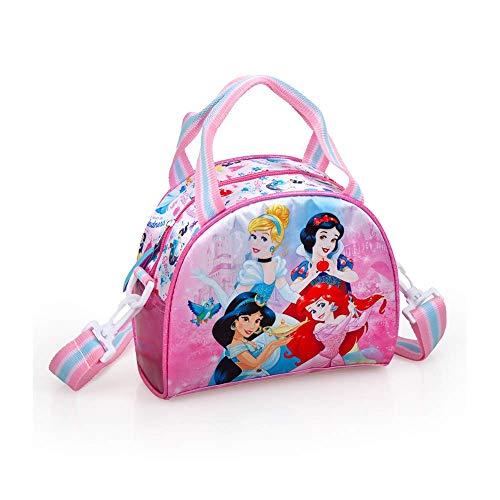 Tasche FRIGO Disney Prinzessinnen Aschenputtel Jasmin Schneewittchen Ariel Freizeitreise Schulmädchen 18x22x10CM.-10818