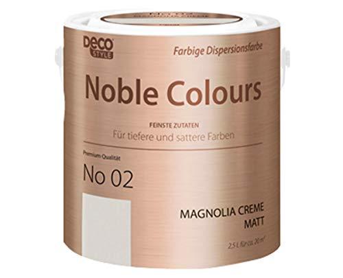 DECO STYLE Noble Colours 2,5-Liter-Eimer (magnolia creme)