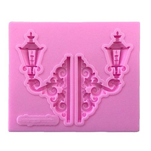 joyliveCY Calle luz molde de silicona Candy Fondant Cake Decoration Mold