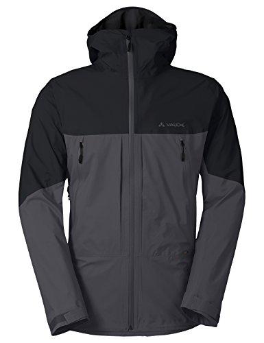 VAUDE Men's Croz 3L Jacket II Veste hardshell très légère pour l'alpinisme Homme iron FR: XL (Taille Fabricant: XL)