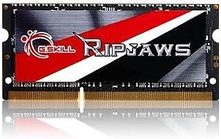 ذاكرة الكمبيوتر المحمول سلسلة G.Skill Ripjaws 8GB 204-Pin DDR3 SO-DIMM DDR3 1600 (PC3 12800) (F3-1600C9S-8GRSL)