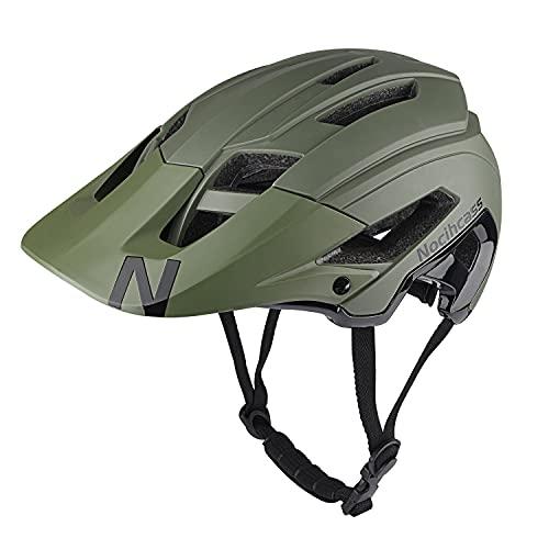 Fahrradhelm für Damen Herren, Radfahren Helm mit Sonnenblende für Frauen Männer Erwachsene für BMX MTB Montain Road Bike 56-61 cm (22-24 inch)