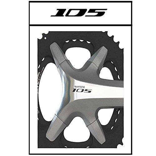 T + A TA Kettenblatt X110 Cover Kit Shimano 105 Silber Fahrrad