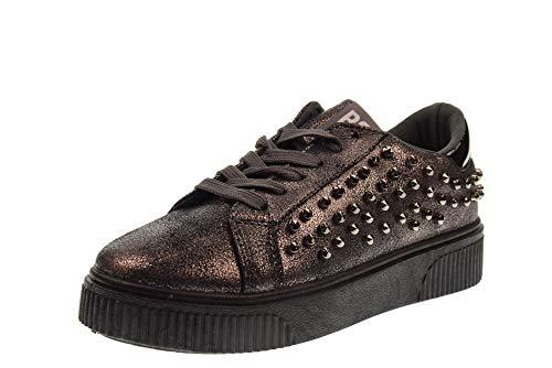 B3D SHOES - Zapatillas de Deporte Mujer, Gris (Gris), 39 EU