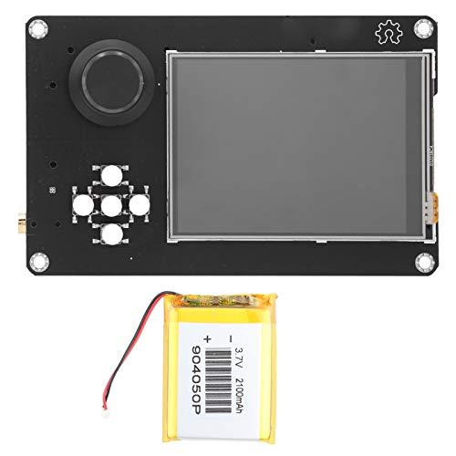 EVTSCAN Último Portapack H2 profesional con batería de litio de 2100 mAh, pantalla táctil LCD de 3,2 pulgadas, ranura para tarjeta Trans-Flash, precisión TCXO de 0,5 ppm, salida de entrada de sonido c