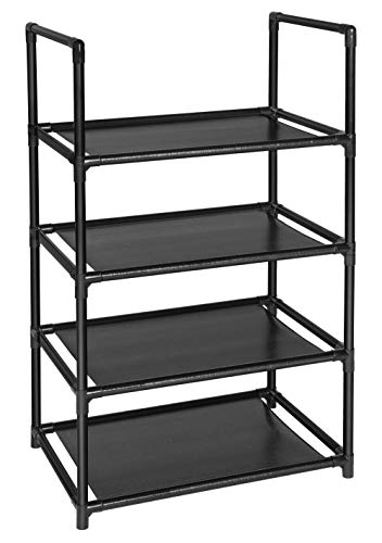 fiducial home 4 Tiers Shoe Rack 8-10 Pairs Sturdy Shoe Shelf