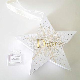 Miss Dior By Christian Dior Star Box Holiday Ornament Mini Splash EDP .17oz